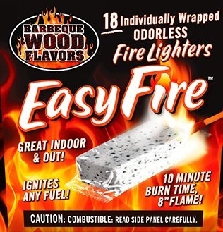 Easy Fire Starter (BBQ Wood Flavors Easy Fire Starters, 18)