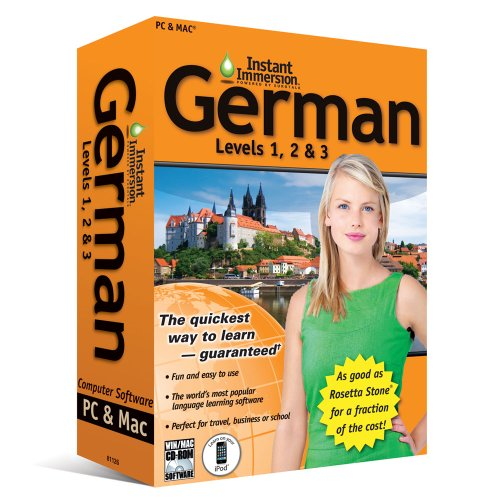 Price comparison product image (2011 Version) Instant Immersion German Levels 1, 2 & 3