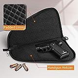 FINPAC Pistol Rug Case, Tactical Firearm Cover Soft