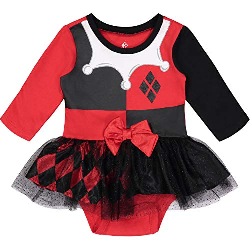 Warner Bros. Harley Quinn Newborn Baby Girls' Costume