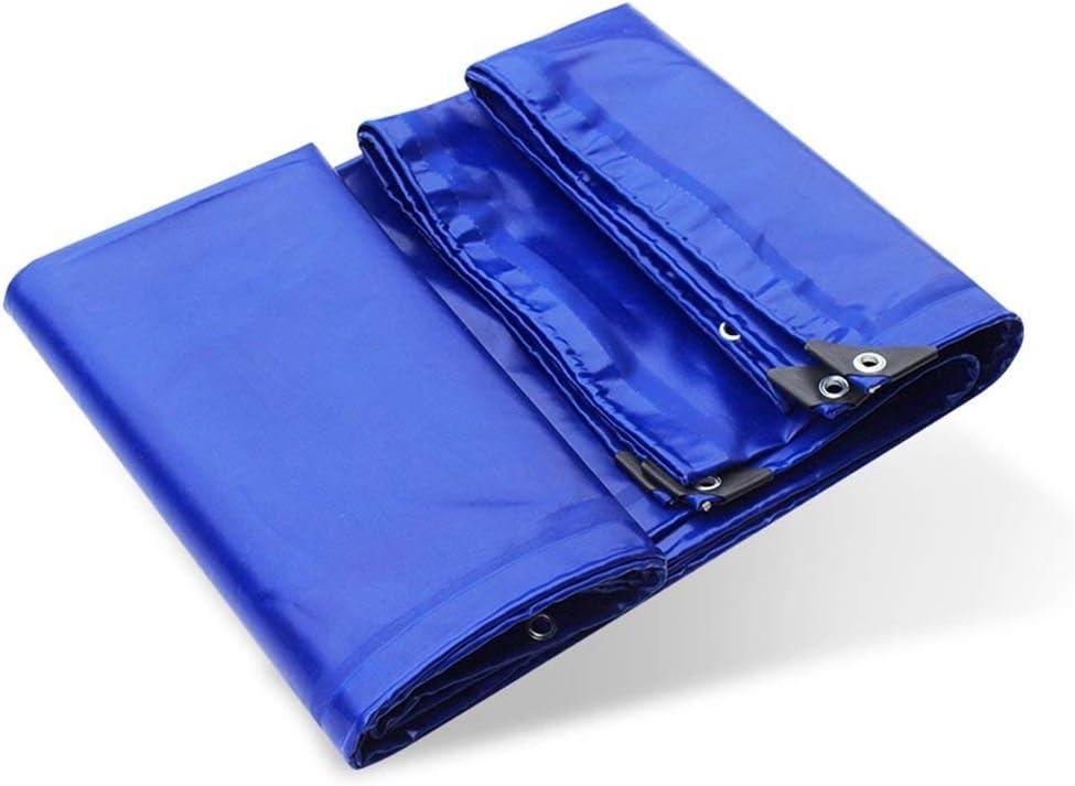 19-yiruculture 屋外のテントの防水シートの防水シートのキャンプのマットの車の防水シートの貨物日焼け止めの絶縁材の摩耗 (Color : 青, サイズ : 5x7M) 青 5x7M