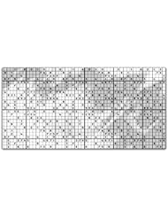 Sudoku Rectangle Tablecloth Large Dining Room Kitchen Woven Polyester Custom Print
