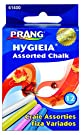 Prang Hygieia Chalk, 3.25 x .375 Inch Chalk Sticks, 12 Count, Assorted Colors (61400)