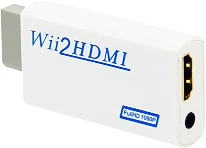 KOBWA Convertidor Wii a HDMI - Escala la Señal del Wii a 720p y ...
