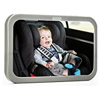 #1 Back Seat Mirror - Baby & Mom Rear View Baby Mirror - Easily Watch your Pr...
