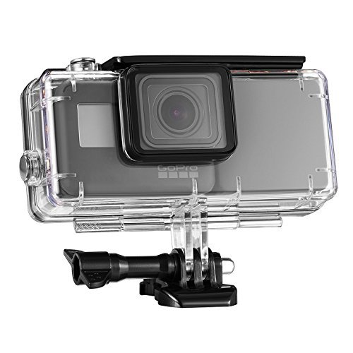 ORBMART Extended Battery for GoPro 5, GoPro 6, Extra Battery with Waterproof Protective Case, images