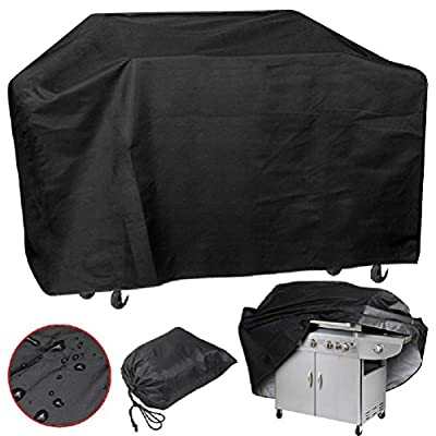 Decorland XXL Large 75'' Wide Waterproof BBQ Cover Gas Barbecue Grill Protection New