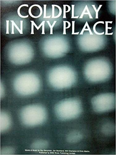 Amazon in: Buy Coldplay In My Place Pvg (Single Sheet Music) Book