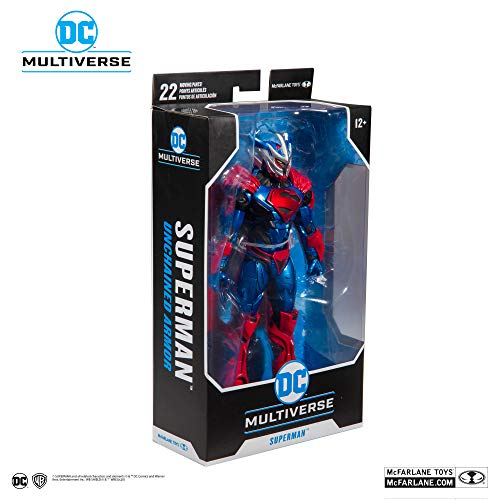 McFarlane DC Armored 7 Action Figures - WV1 - Superman Unchained