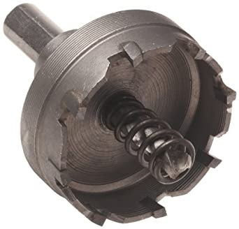 """Morris Products 13480 Carbide Tipped High Speed Steel Hole Saw Cutters, 1-3/4"""" Size, 1-1/4"""" Conduit, 1-1/2"""" CU Pipe"""