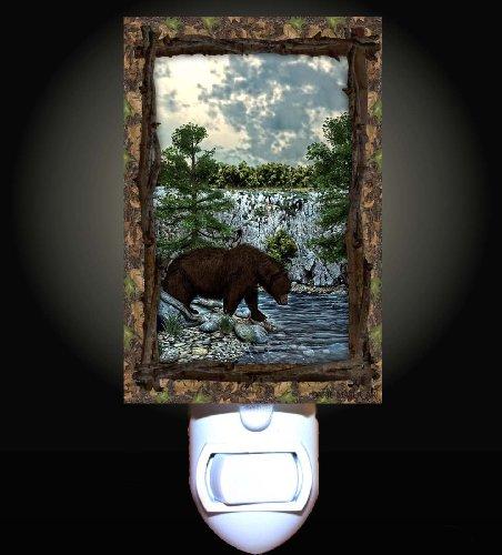 Bear Lodge Decorative Night Light