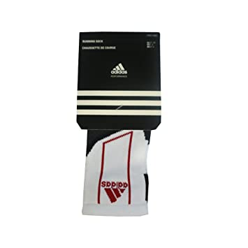 Adidas T Run - Calcetines tobilleros (2 pares) blanco White / Black / Red