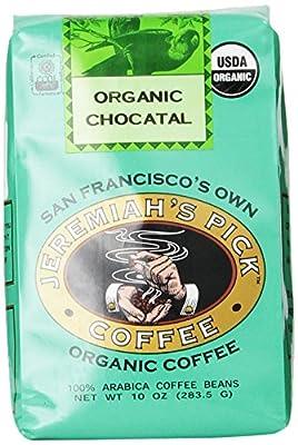 Jeremiah's Pick Coffee Organic Chocatal Ground Coffee 10 Ounce Bag