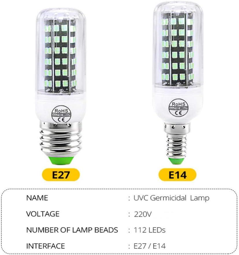 Lampada di disinfezione UV Lampadina a LED disinfezione a LED-4 5