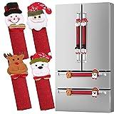 D-FantiX Refrigerator Door Handle Covers Set of