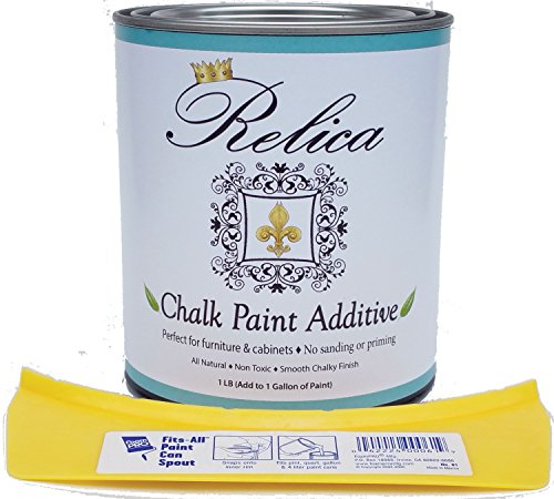 chalk-paint-mix-by-relica-with-quart-can-and-pouring-spout-for-mixing-1-lb-to-mix-with-1-gallon-of-t