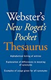 Books : Webster's New Roget's Pocket Thesaurus