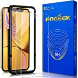 iPhone XR Screen Protector, FOGEEK [2 Pack] Tempered Glass for iPhone XR, HD Clarity 2.5D Edge iPhone XR Screen Protector [Case Friendly] Screen Protector for iPhone XR
