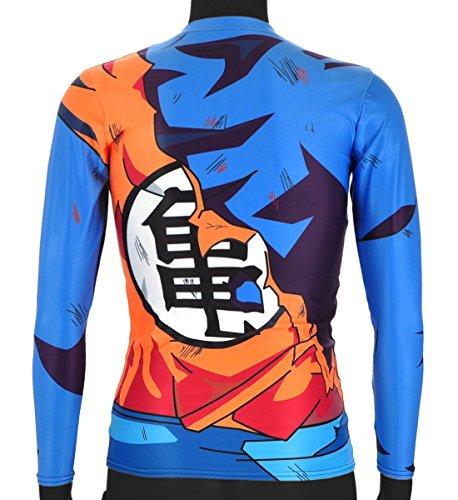 CoolChange Camiseta de Manga Larga de La Bola del dragón Super- Sayaijn, Talla: XL: Amazon.es: Juguetes y juegos