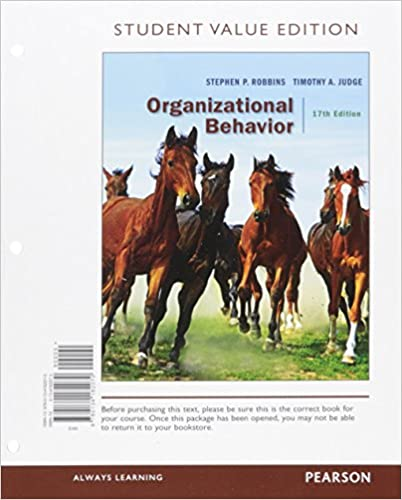 Amazon organizational behavior student value edition 17th amazon organizational behavior student value edition 17th edition 9780134182070 stephen p robbins timothy a judge books fandeluxe Choice Image