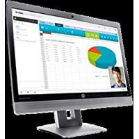 HP EliteMonitor M1P00A8 E240c 24-inch IPS Video Conferencing LED Monitor (Smart Buy) - 1080p (Full HD) - 5000000:1 - 7 ms - 60 Hz - VGA, HDMI, MonitorPort and USB - Black, (Certified Refurbished)