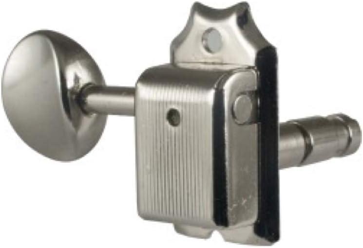 Magnum Lock Left Handed Nickel R6 Gotoh SD91-MG-05M Locking Tuners