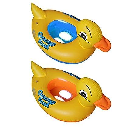 PVC Flotador Anillo de natación del Niños de dibujos animados del Pato,GZQES,Infant