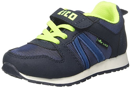 Lico Jungen Mario Vs Sneaker Blau (Marine/Blau/Lemon)