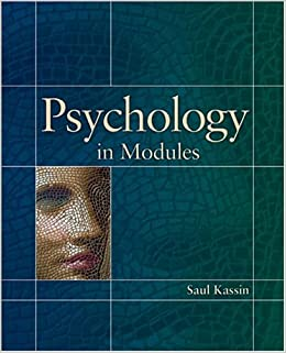 Book Psychology in Modules