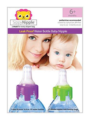 Spout Adapter (SippyNipple Leak Proof Water Bottle Nipple 6+ months)