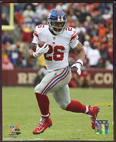 Saquon Barkley Officially Licensed New York Giants 8x10 Photo with Toploader ()