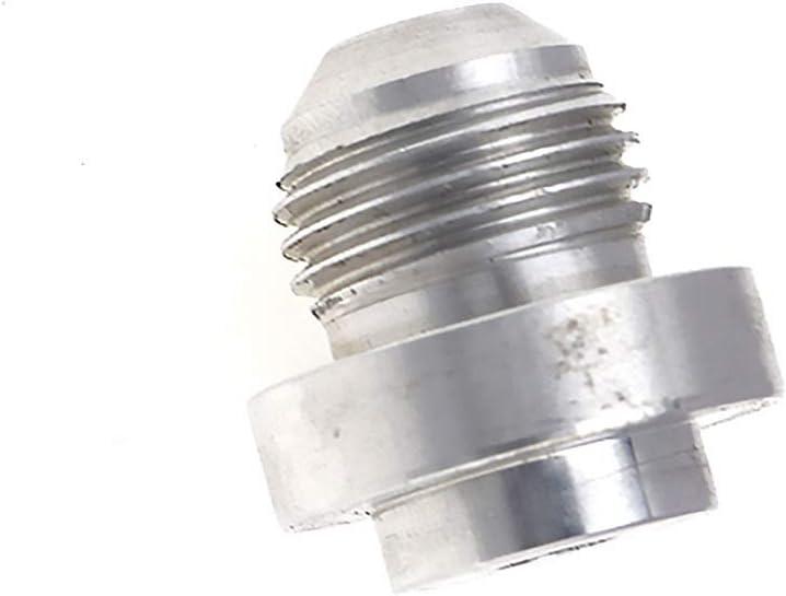 OTOTEC 2PCS an-6/Fuel Fitting adattatori in Alluminio Male Weld on Fitting Base Rotonda sul Tappo Tubo radiatore Olio Serbatoio Cell Strumenti di Riparazione