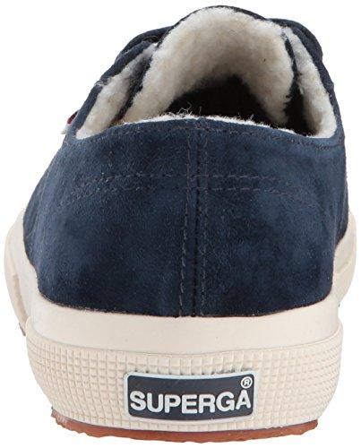 Superga Womens 2750 Kidsuew Fashion Sneaker Marine