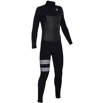 59d610319f0a5 Hurley Fusion 5 3 black white Chest Zip Traje de Neopreno Tamaño XS   Amazon.es  Deportes y aire libre