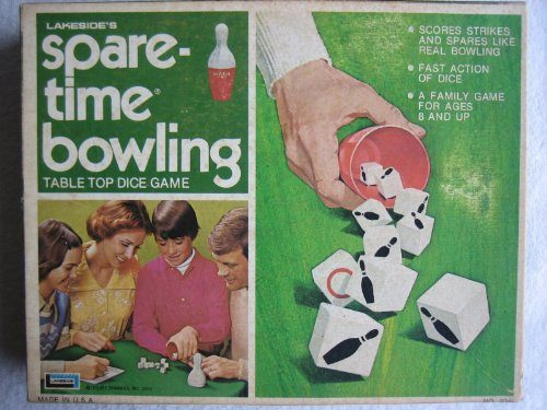 Vintage Lakesides Spare-Time Bowling Game
