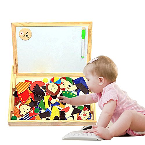 Eonkoo Cute Cartoon Figure Baby Educational building block Puzzle Toys
