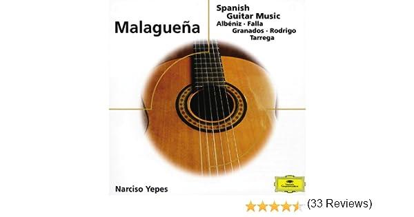 Malaguena - Spanish Guitar Music de Narciso Yepes en Amazon Music ...