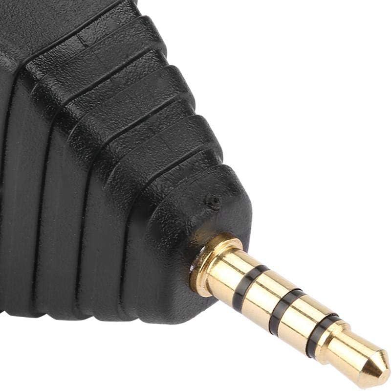 Akozon Adaptateur M/âle 10Pcs 3.5mm 4 P/ôles St/ér/éo Vedio Fiche M/âle /à 4 Bornes Adaptateur Connecteur