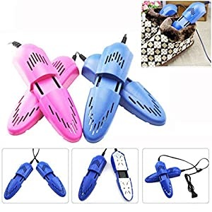 Sikye 2 × Shoe Dryer,Portable Travel Drying Heater Device, Electric Foot Dryer for Your Shoes, Liners, Boots, Gloves