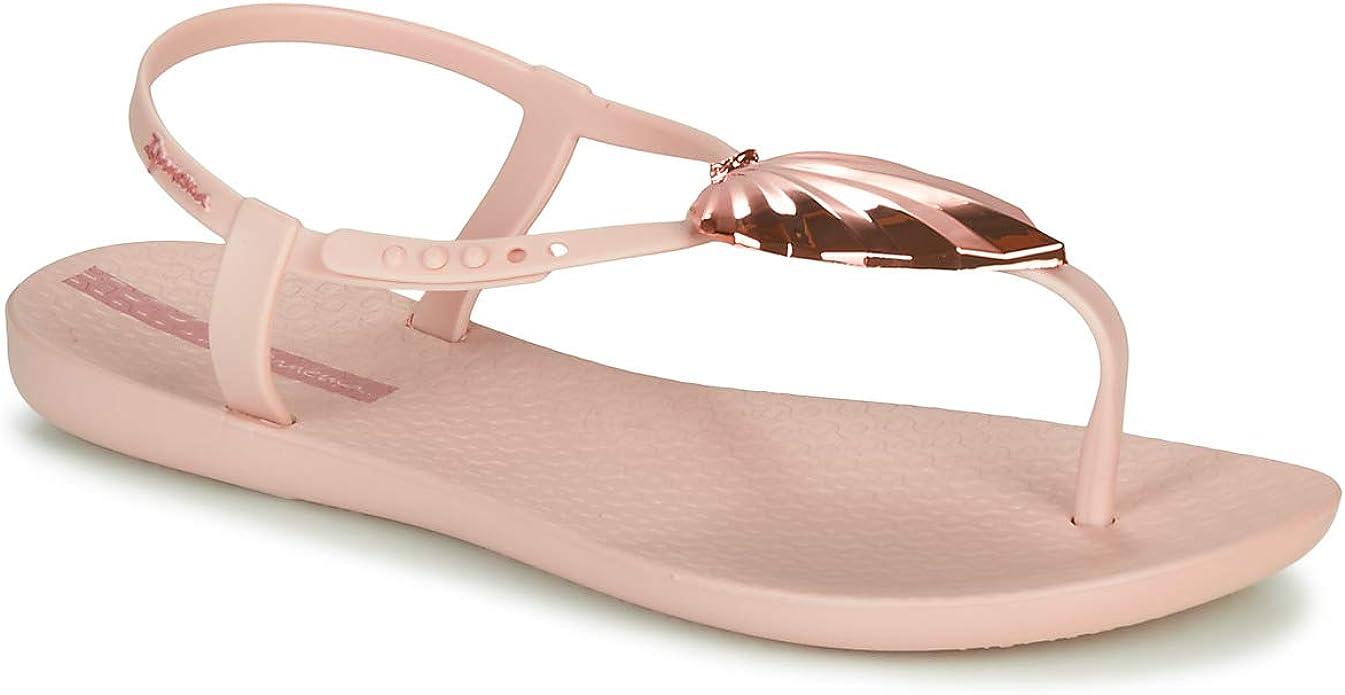Ipanema Hit Pink Black Ladies Vegan Friendly 100/% Recyclable Flip Flops
