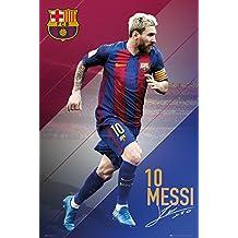 "FC Barcelona Poster - Lionel Messi no. 10 (24""x36"")"