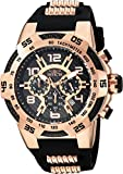 Invicta Men's 'Speedway' Quartz Stainless Steel and Silicone Casual Watch, Color:Two Tone (Model: 24234)