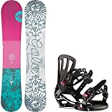 Rossignol Gala 146cm Womens Snowboard + Rossignol Gala Bindings - Fits US Wms Boots Sized: 5,6,7,8