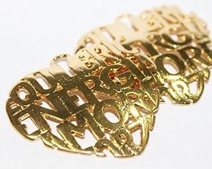 Paquete 3 Dijes Corazon Energia/equilibri/amor En Goldfilled 14/20, De