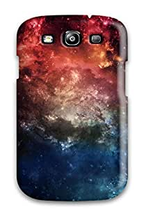 Galaxy S3 Case Cover Slim Fit Tpu Protector Shock Absorbent Case Hd Space