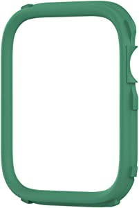 RhinoShield CrashGuard NX Extra Rim [ONLY] Compatible with Apple Watch SE [44mm] & Series 6/5 / 4 [44mm] & Series 3/2 / 1 [42mm] | Additional Accessory for RhinoShield Apple Watch Case- Fern Green