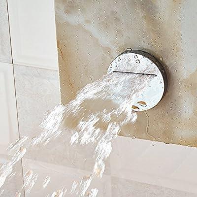 ZXY Alta calidad luz flor marble mampara de ducha alta calidad ...