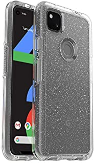 OtterBox Symmetry Clear Series Case for Google Pixel 4a - Stardust (Silver Flake/Clear)