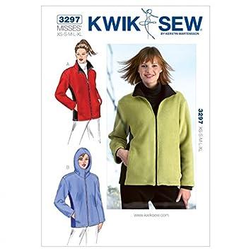 Kwik Sew Damen Schnittmuster 3297 – Jacke (O/S): Amazon.de: Küche ...
