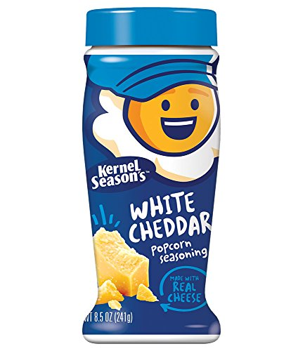 Kernel Season's White Cheddar Seasoning, 8.5 Ounce Shakers (Pack of 2) (Best White Popcorn Kernels)
